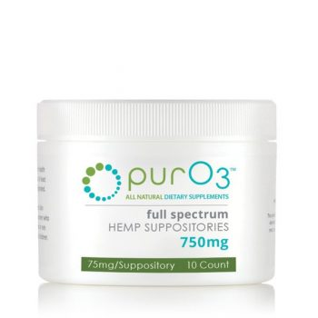 Pur 03 Full Spectrum CBD Suppositories