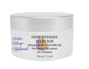 CBD Cream WIth Emu Oil