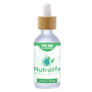 Nutralife Wellness Full Spectrum Hemp Oil 750