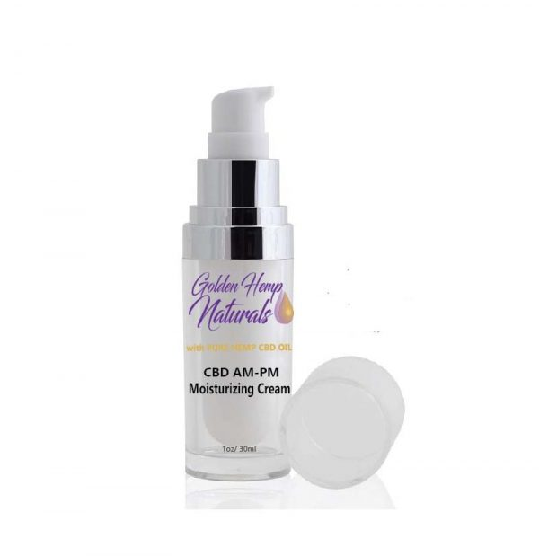 Golden Hemp Naturals PM Daily Facial Moisturizer