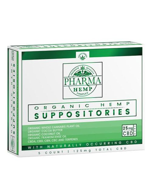 CBD Organic Supporitories